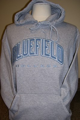 hooded sweatshirt - light gray