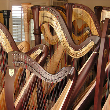 Eight Harpists to Perform at BC