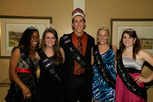 Homecoming '11 Court-B