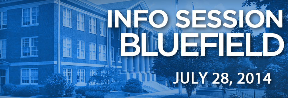 BC Online Info Session–Bluefield