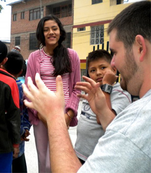 Bluefield College - JD Taylor in Peru