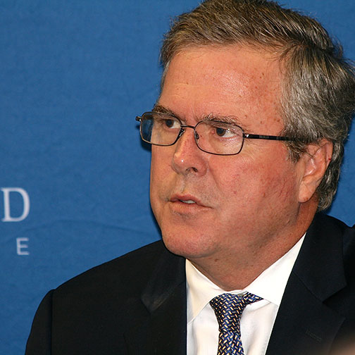 Jeb Bush Speaks at Bluefield College