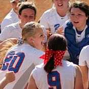 Rams Softball Gets First Conference Win