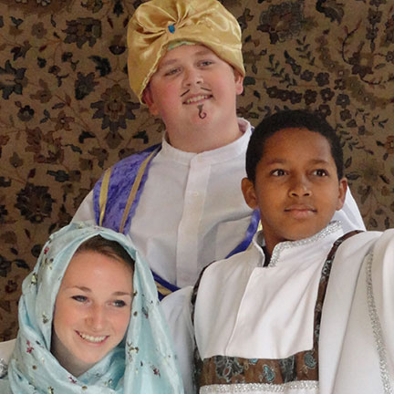 BC Youth Theatre to Present Aladdin