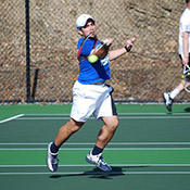 Rams Men's Tennis Team Falls Short to No. 20 Bears