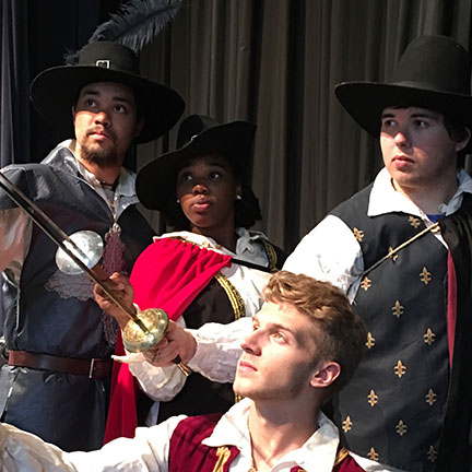 BC Theatre to Present Three Musketeers