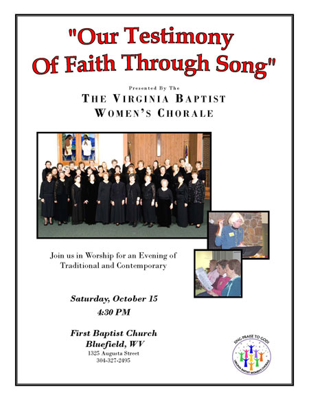 Virginia Baptist Women's Chorale 10-11